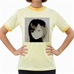 Heartwill Women s Fitted Ringer T-Shirts Front