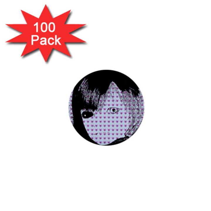 Heartwill 1  Mini Buttons (100 pack)