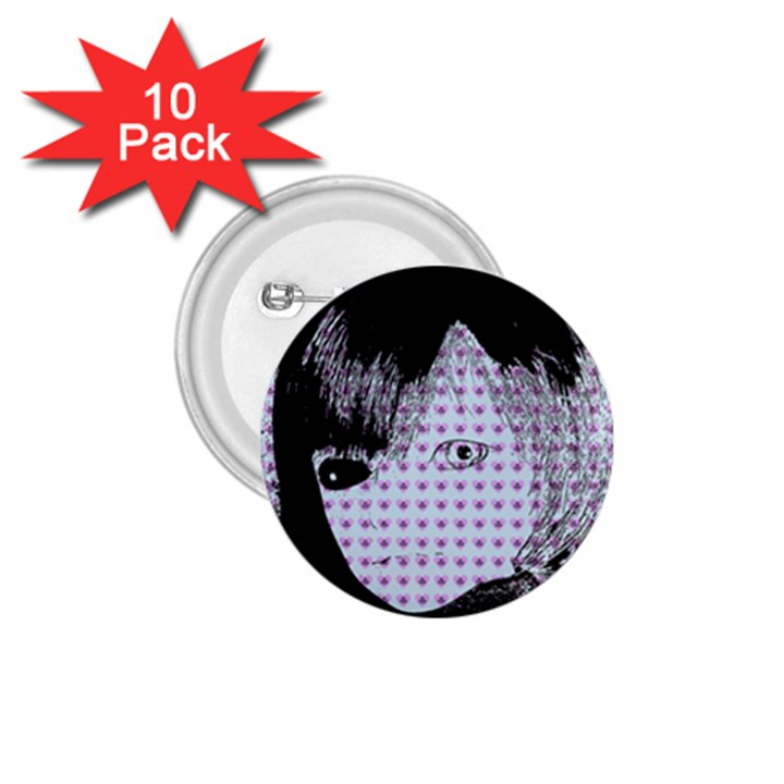 Heartwill 1.75  Buttons (10 pack)