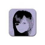 Heartwill Rubber Square Coaster (4 pack)  Front