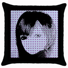 Heartwill Throw Pillow Case (black)