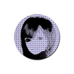 Heartwill Rubber Round Coaster (4 Pack)