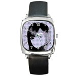 Heartwill Square Metal Watch Front