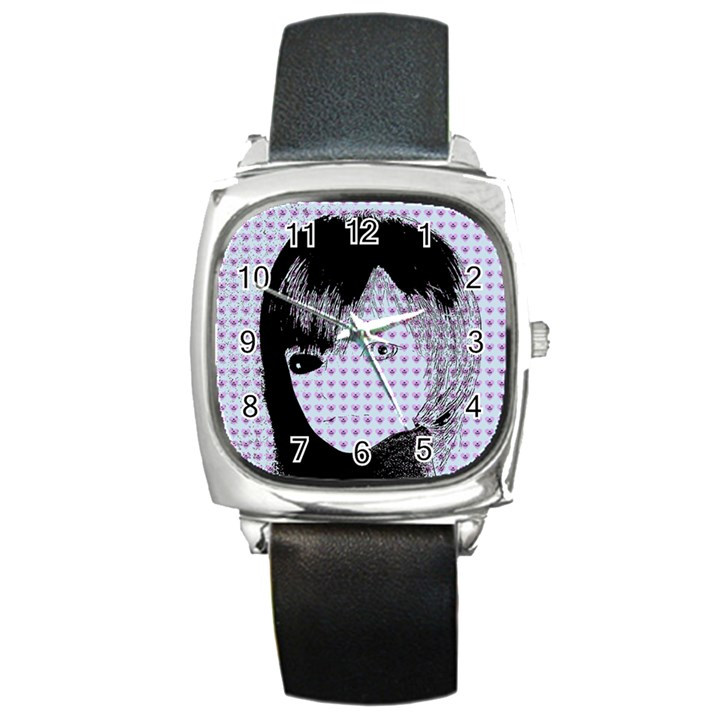 Heartwill Square Metal Watch