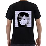 Heartwill Men s T-Shirt (Black) (Two Sided) Back
