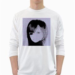 Heartwill White Long Sleeve T Shirts