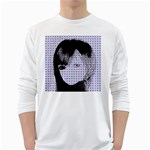 Heartwill White Long Sleeve T-Shirts Front