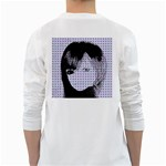 Heartwill White Long Sleeve T-Shirts Back
