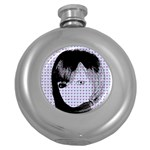 Heartwill Round Hip Flask (5 oz) Front