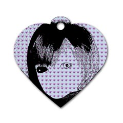 Heartwill Dog Tag Heart (two Sides)