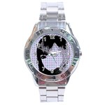 Heartwill Stainless Steel Analogue Watch Front