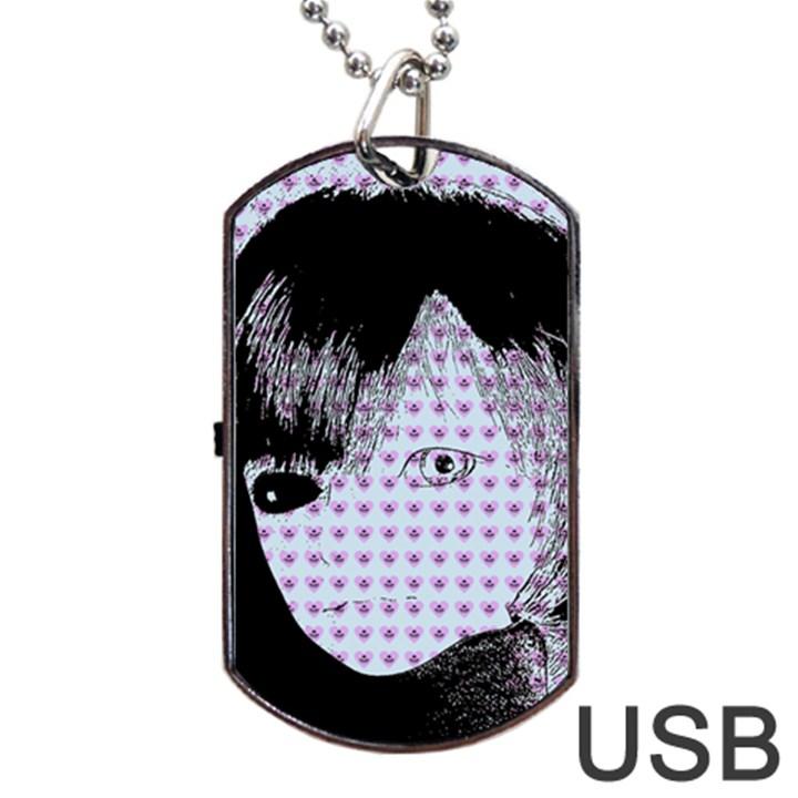 Heartwill Dog Tag USB Flash (One Side)