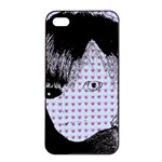 Heartwill Apple iPhone 4/4s Seamless Case (Black) Front