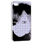 Heartwill Apple iPhone 4/4s Seamless Case (White) Front