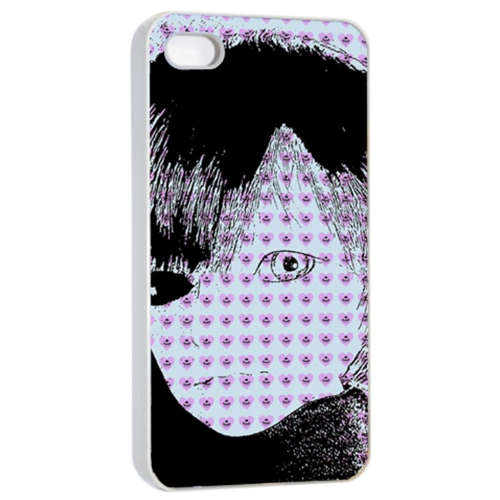Heartwill Apple iPhone 4/4s Seamless Case (White)