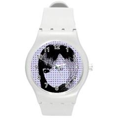 Heartwill Round Plastic Sport Watch (m)
