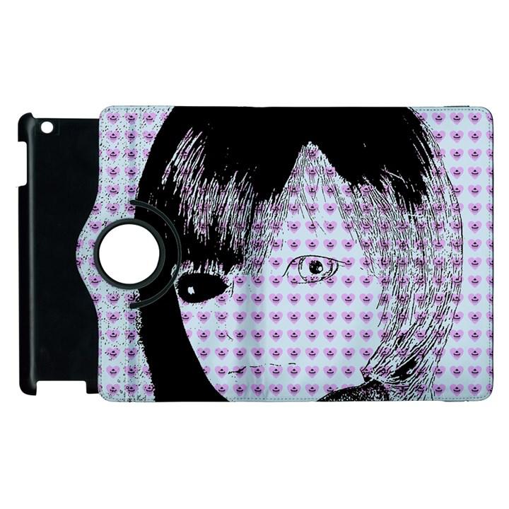 Heartwill Apple iPad 3/4 Flip 360 Case