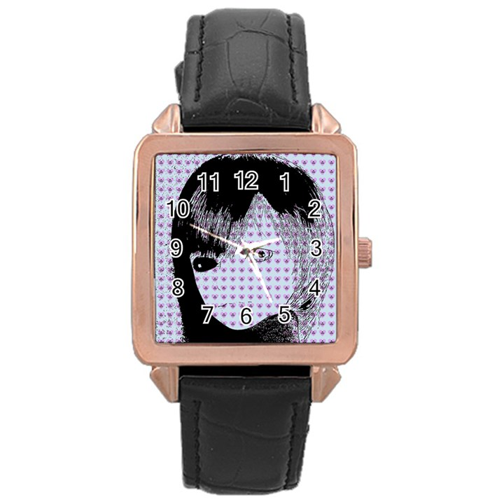 Heartwill Rose Gold Leather Watch