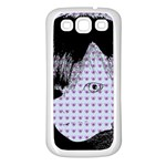 Heartwill Samsung Galaxy S3 Back Case (White) Front