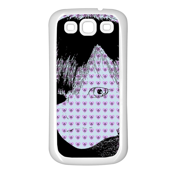 Heartwill Samsung Galaxy S3 Back Case (White)