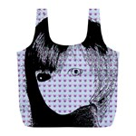 Heartwill Full Print Recycle Bags (L)  Back