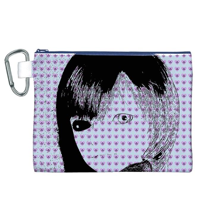 Heartwill Canvas Cosmetic Bag (XL)