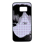 Heartwill Samsung Galaxy S7 Black Seamless Case Front