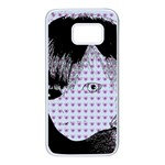 Heartwill Samsung Galaxy S7 White Seamless Case Front