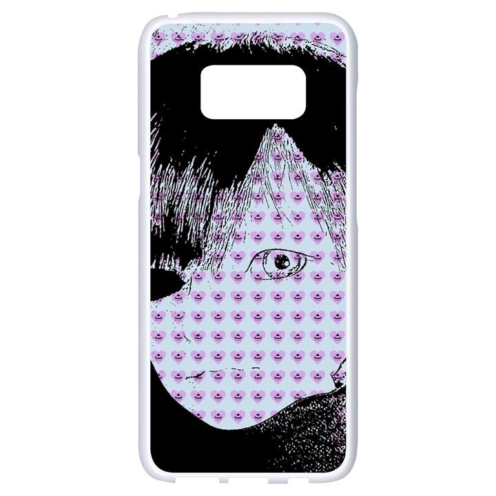 Heartwill Samsung Galaxy S8 White Seamless Case