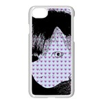 Heartwill Apple iPhone 8 Seamless Case (White) Front