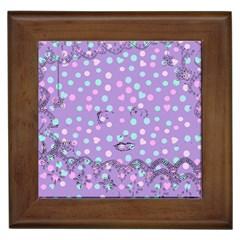 Little Face Framed Tiles