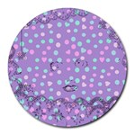 Little Face Round Mousepads Front