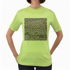 Little Face Women s Green T Shirt