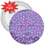 Little Face 3  Buttons (10 pack)  Front