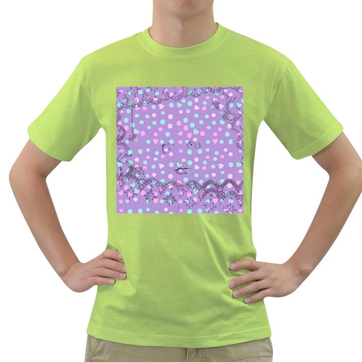 Little Face Green T-Shirt