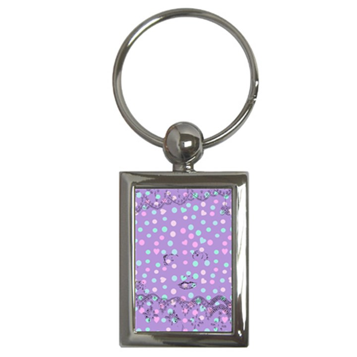 Little Face Key Chains (Rectangle)