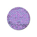 Little Face Rubber Round Coaster (4 pack)  Front