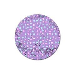 Little Face Magnet 3  (round)