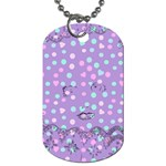 Little Face Dog Tag (One Side) Front