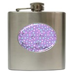 Little Face Hip Flask (6 oz) Front