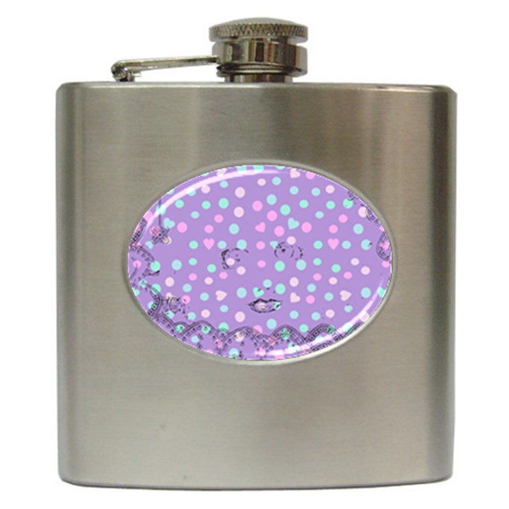 Little Face Hip Flask (6 oz)
