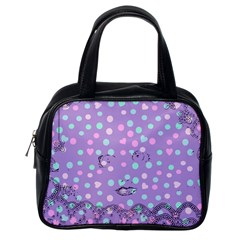 Little Face Classic Handbags (one Side)