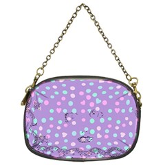 Little Face Chain Purses (one Side)