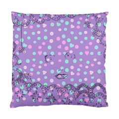 Little Face Standard Cushion Case (two Sides)