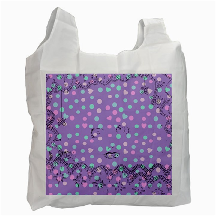 Little Face Recycle Bag (One Side)
