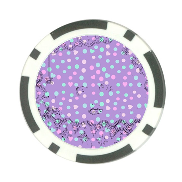 Little Face Poker Chip Card Guard (10 pack)