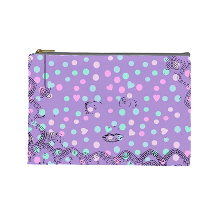 Little Face Cosmetic Bag (Large)