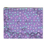 Little Face Cosmetic Bag (XL) Front