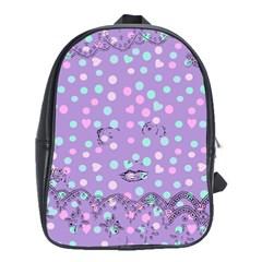 Little Face School Bag (large)