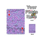 Little Face Playing Cards 54 (Mini)  Front - Diamond7